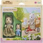 Play Set Sylvanian Families Cycling with Mother