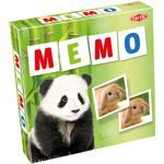 Childrens Board Games - Tile Placement Tactic Animal Babies Memo