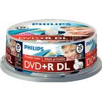 DVD Philips DVD R 8.5GB 8x Spindle 25-Pack