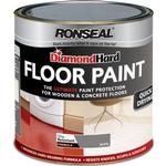 Floor Paint - Glossy Floor Paint price comparison Ronseal Diamond Hard Floor Paint Grey 2.5L
