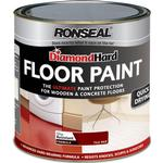 Floor Paint - Glossy Floor Paint price comparison Ronseal Diamond Hard Floor Paint Red 2.5L