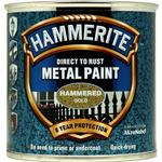 Metal Paint price comparison Hammerite Direct to Rust Hammered Effect Metal Paint Gold 0.25L
