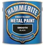 Paint price comparison Hammerite Direct to Rust Smooth Effect Metal Paint Black 2.5L