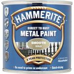 Metal Paint price comparison Hammerite Direct to Rust Smooth Effect Metal Paint Gold 0.25L