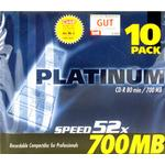 CD Q-CONNECT CD-R 700MB 52x Jewelcase 10-Pack