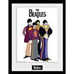 Framed Art GB Eye The Beatles Yellow Submarine Group 30x40cm Framed art