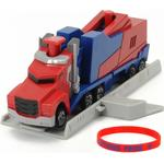Transformers Toys price comparison Dickie Toys Transformers Mission Racer Optimus Prime