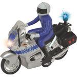 Toy Motorcycle - Plasti Dickie Toys Police Bike