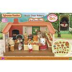 Dollhouse Accessories - Plasti Sylvanian Families Brick Oven Bakery