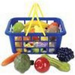 Food Toys - Plasti Casdon Fruit & Veg Shopping Basket