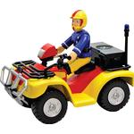 Fire fighter - Play Set Character Fireman Sam Vehicle & Accessory Set Quad Bike