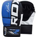 Gloves - White RDX Maya Fighter Training Gloves