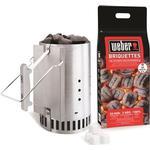Ignition Weber Chimney Starter Set