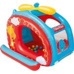 Ball Pit Set - Plasti Fisher Price Helicopter Inflatable Ball Pit - 25 balls