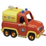 Plasti - Car Track Set Character Fireman Sam Vehicle & Accessory Set Venus Fire Engine