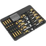 Slotted Screwdriver Sealey Sealey S01110 Bit Set 60-parts