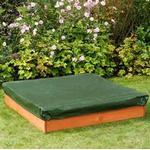 Sandbox Toys - Wood Plum Square Wooden Sand Pit