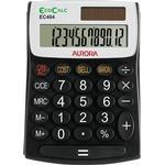 Solar Powered Calculators Aurora EC404