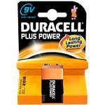 Alkaline - 9V (6LR61) Batteries & Chargers Duracell 9V Plus Power