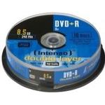 DVD Intenso DVD+R 8.5GB 8x Spindle 10-Pack