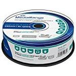 8x - DVD MediaRange DVD+R 8.5GB 8x Spindle 25-Pack Wide Inkjet