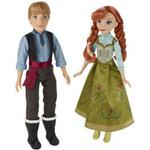 Fashion Dolls price comparison Hasbro Disney Frozen Anna & Kristoff 2 Dolls B5168