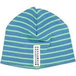 Stripes - Beanies Children's Clothing Geggamoja Premature Beanie- Marin / Green (59740)