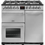Dual Fuel Cooker - 90 cm Dual Fuel Cooker price comparison Belling Farmhouse Deluxe 90 Dual Fuel