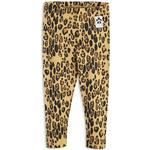 Leggings - 80/86 Children's Clothing Mini Rodini Basic Leopard Leggings - Beige (1923012613)