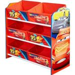 Storage Boxes Kid's Room Worlds Apart Hello Home Disney Cars 3 Multi Storage Unit