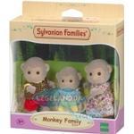 Soft Toys - Monkey Sylvanian Families Darwin Monkey Family