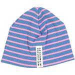Stripes - Beanies Children's Clothing Geggamoja Premature Beanie - Marin / Strong Pink (59741)