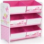 Storage Boxes Kid's Room Hello Home Patchwork 6 Bin Storage Unit