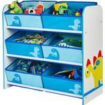Storage Kid's Room Hello Home Dinosaur 6 Bin Storage Unit