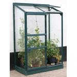 Lean-to Greenhouses Lean-to Greenhouses price comparison Vitavia IDA Vægdrivhus Small 0.9m² Aluminum Polycarbonate