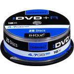 DVD Intenso DVD+R 4.7GB 16x Spindle 25-Pack