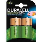 Cheap Rechargeable Standard Batteries Duracell D Recharge Ultra (2 pcs)