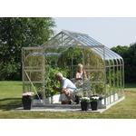 Freestanding Greenhouses - Rectangular Vitavia Diana 8.3m² Aluminum Glass