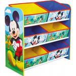 Storage Kid's Room Hello Home Mickey Mouse 6 Bin Storage Unit