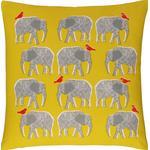Habitat Topsy Elephant Decoration Pillow Yellow (45x45cm)