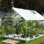 Freestanding Greenhouses - Rectangular Vitavia Venus 7500 7.5m² Aluminum Glass