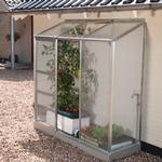 Lean-to Greenhouses price comparison Vitavia IDA Vægdrivhus Small 1.34m² Aluminum Polycarbonate