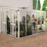Lean-to Greenhouses price comparison Vitavia Helena 10.2m² Aluminum Glass