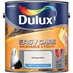 Dulux Easycare Washable & Tough Matt Wall Paint, Ceiling Paint Off-white 2.5L