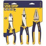 Pliers Irwin 10505483 Pro Nipper, Nose Plier Set 3-parts