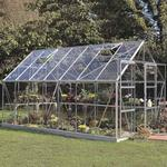 Freestanding Greenhouses - Rectangular Halls Magnum 148 11.5m²s Aluminum Glass