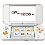 Portable Game Consoles Deals Nintendo New 2DS XL - White/Orange