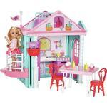 Dollhouse dolls - Plasti Barbie Club Chelsea Playhouse