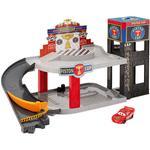 Play Set Mattel Disney Pixar Cars Piston Cup Racing Garage DWB90