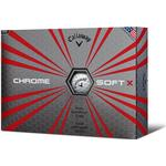 Distance Ball - Golf ball Callaway Chrome Soft X (12 pack)